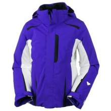 Vivian Insulated Ski Jacket Girls', Purple Reign, XS by Obermeyer