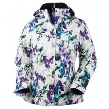 Victoria Insulated Ski Jacket Women's, Trance Print, 2 by Obermeyer
