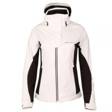 Empress Insulated Ski Jacket Women's, White, 10 by Obermeyer