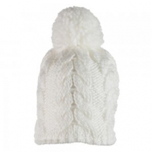 Live Knit Hat Girls', White, by Obermeyer