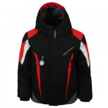 Raptor Insulated Ski Jacket Little Boys', Black, 2
