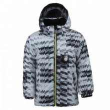 Stealth Insulated Ski Jacket Little Boys', Grey Coat of Arms, 1
