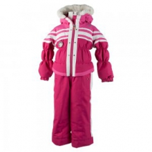 Skiter Insulated Ski Suit Little Girls', Glamour Pink, 2