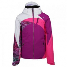 Tabor Insulated Ski Jacket Girls', Violet Vibe, XS