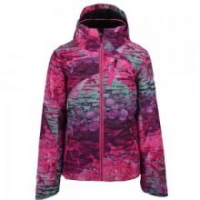 Tabor Print Insulated Ski Jacket Girls', Digi Floral, L by Obermeyer