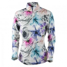 Sage 75wt Turtleneck Mid-Layer Women's, Xray Floral, XS in Kirkwood, MO