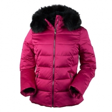 Bombshell with Faux Fur Womens Insulated Ski Jacket