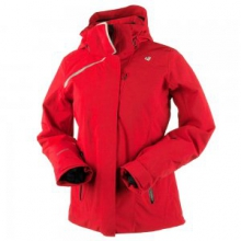 Zermatt Insulated Ski Jacket Women's, Crimson, 10