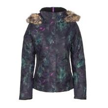 Womens Tuscany Jacket Marble Grey 12 by Obermeyer