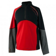 Transport Tech Baselayer Top Boys', Red, S by Obermeyer