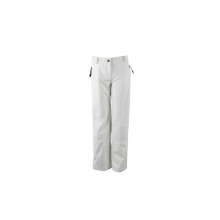 Womens Summit Softshell Pant White 14 by Obermeyer