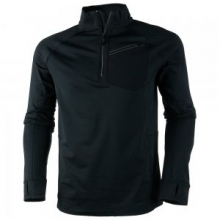 Flight Sport 75wt Zip Fleece Mid-Layer Men's, Black, M