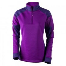 Nova Elite 150wt Turtleneck Mid-Layer Women's, Violet Vibe, L by Obermeyer
