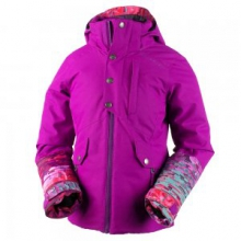 Kenzie Insulated Ski Jacket Girls', Violet Vibe, M