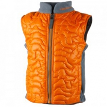 Sidekick Insulated Vest Toddler Boys', Tangerine, 2 by Obermeyer