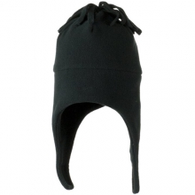 Orbit Fleece Hat - Closeout: Black, Small/Medium by Obermeyer