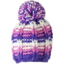 Ski School Knit Hat - Girl's - Closeout: Pink, Small/Medium by Obermeyer