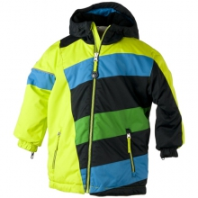 Blizzard Jacket - Boy's: Lime Punch, 3