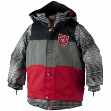 Slopestyle Jacket - Boy's: True Red, 4