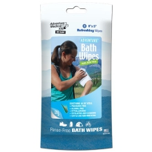 Adventure Bath Wipes - Travel Size by Adventure Medical Kits