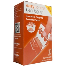 Fabric, Knuckle & Fingertip, 20 Count by Adventure Medical Kits
