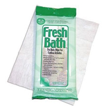 Fresh Bath Wipes (8) by Adventure Medical Kits