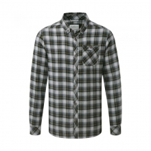 Mens Kearney Check Shirt Quarry Grey Medium