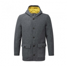 Mens Hamilton Jacket Dk Grey Marl Medium by Craghoppers