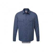 Mens Kiwi LS Shirt Faded Indigo XL by Craghoppers