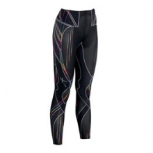 Stabilyx Revolution Run Tight - Women's - Rainbow Stripes Print In Size by CW-X