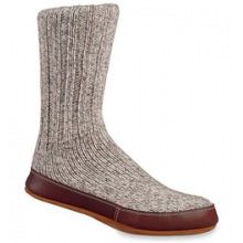 Ragg Wool Slipper Socks - Grey In Size: XXS in Logan, UT