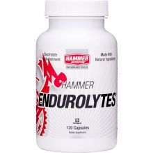 Endurolyte Electrolyte Replacement Capsules  - Endurolyte Capsules (120) by Hammer Nutrition