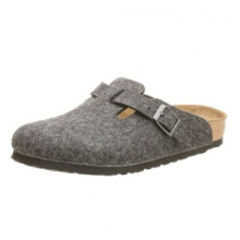 Boston Wool Clog - Anthracite In Size: 38