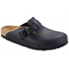 Boston Black Oiled Leather by Birkenstock