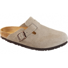 Boston Taupe Suede by Birkenstock