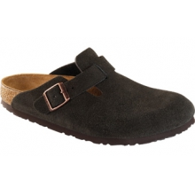 Boston Mocha Suede by Birkenstock