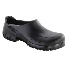A 640 Steel Toe Black Polyurethane by Birkenstock