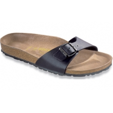 Madrid Black Birko-Flor by Birkenstock