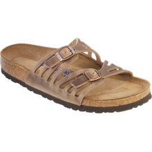 Granada Tobacco Soft Footbed Oiled Leather