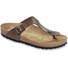 Gizeh Golden Brown Birko-Flor by Birkenstock