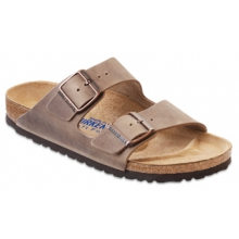Arizona Soft Footbed Tobacco Oiled Leather by Birkenstock