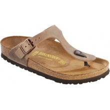 Gizeh Tobacco Oiled Leather by Birkenstock