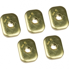 SlideTrax Base Plate Brass Fitting - 5 pk by Harmony