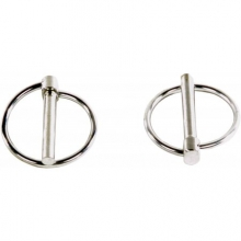 Replacement Axle Clips - Round - Pair by Harmony