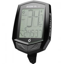 Atom SL 3.0 Cyclometer - Black by Blackburn Design