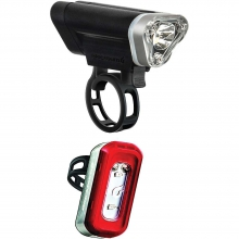 Front 75 And Local 20 Rear Led Bike Light by Blackburn Design