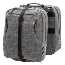 Central Saddle Bags (Pair) - Grey by Blackburn Design