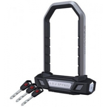 Sing Sing Compact U-Lock Bike Lock - Silver by Blackburn Design