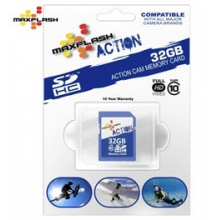 32GB SDHC Class 10 Memory Card - In Size: 32G by Maxflash