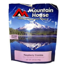 Mountain House Rasberry Crumble Serves 4 by Mountain House